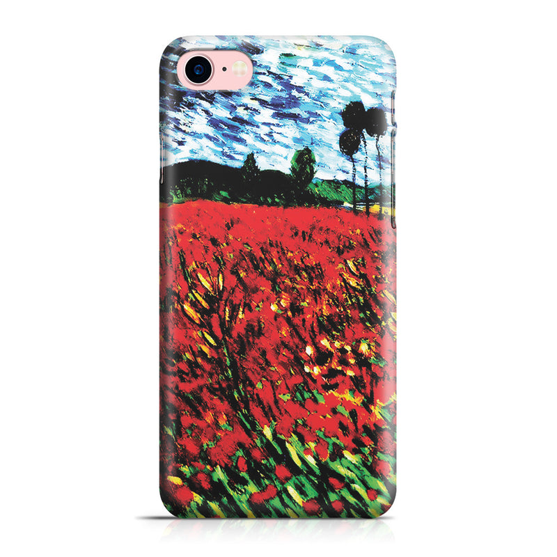 iPhone 7 Case - Field of Popples by Vincent Van Gogh