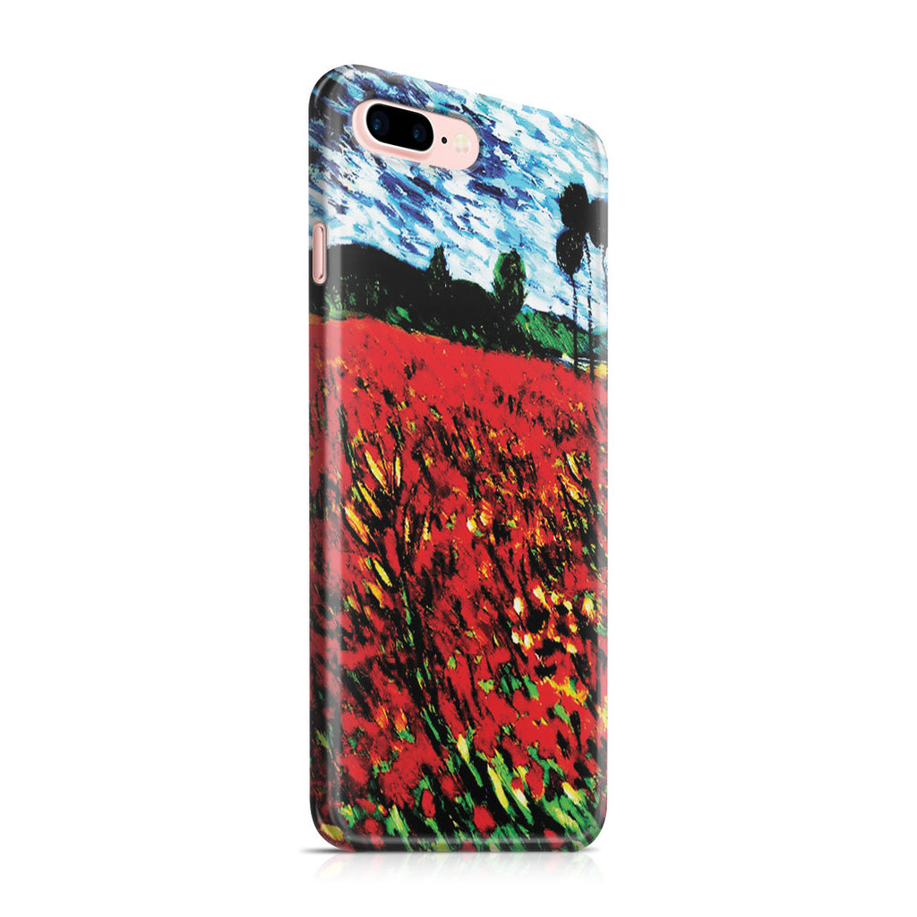 iPhone 7 Plus Case - Field of Popples by Vincent Van Gogh