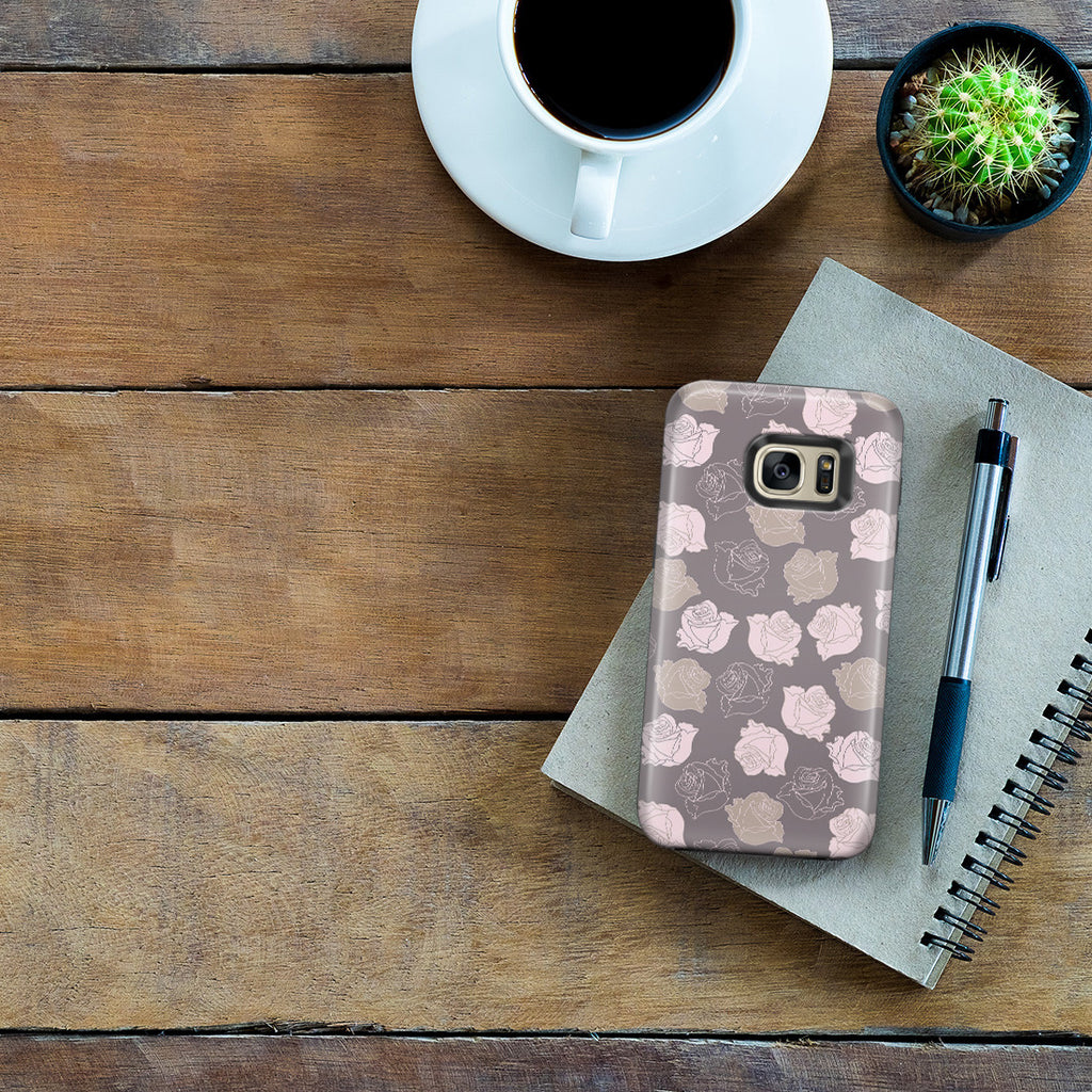Galaxy S7 Edge Adventure Case - Lovely Is the Rose