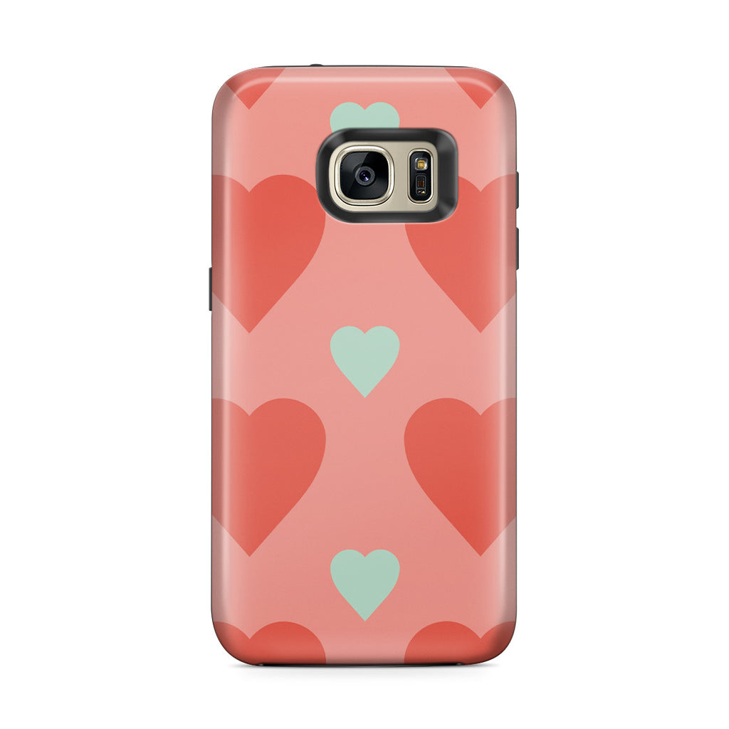 Galaxy S7 Edge Adventure Case - Big or Small Love You the Same