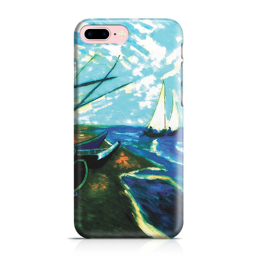iPhone 8 Plus Case - Fishing Boats on the Beach at Saintes-Marles