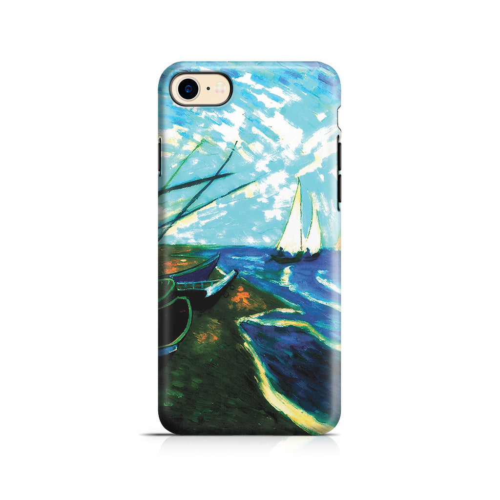 iPhone 7 Adventure Case - Fishing Boats on the Beach at Saintes-Marles