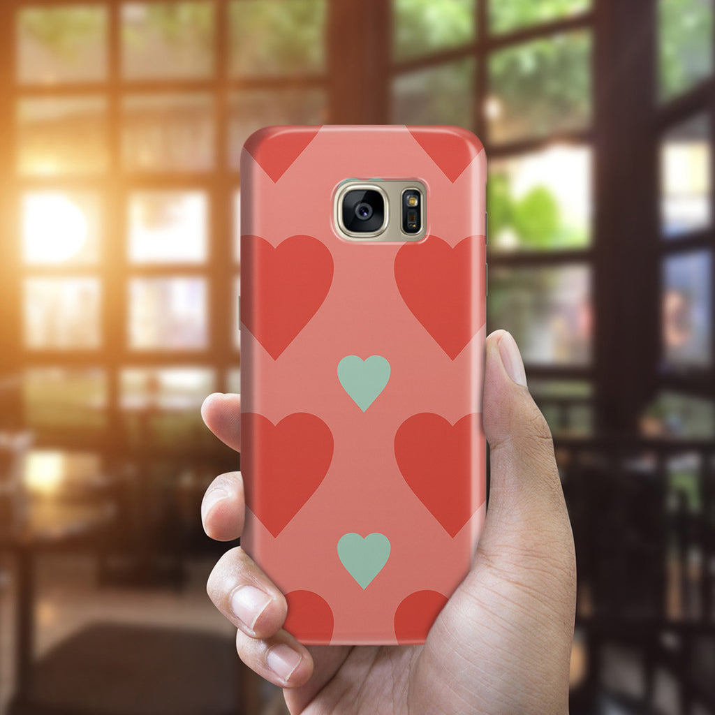 Galaxy S7 Edge Case - Big or Small Love You the Same