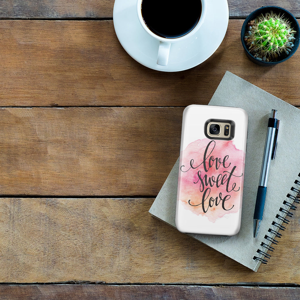 Galaxy S7 Edge Adventure Case - Home Is Where the Heart Is