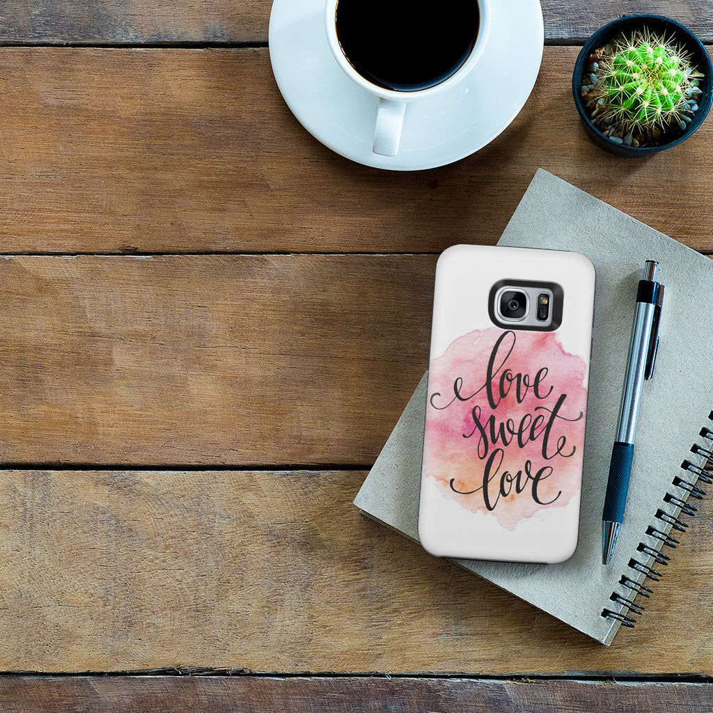 Galaxy S7 Adventure Case - Home Is Where the Heart Is