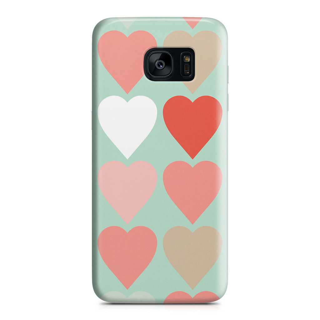 Galaxy S7 Edge Case - Candy Hearts