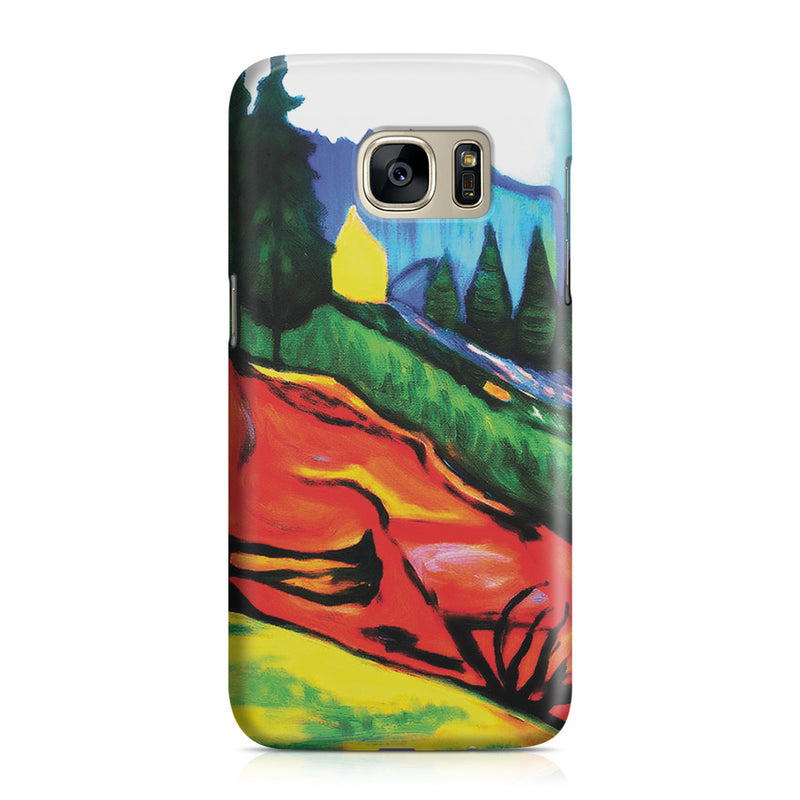 Galaxy S7 Case - From Thuringewald, 1905 by Edvard Munch