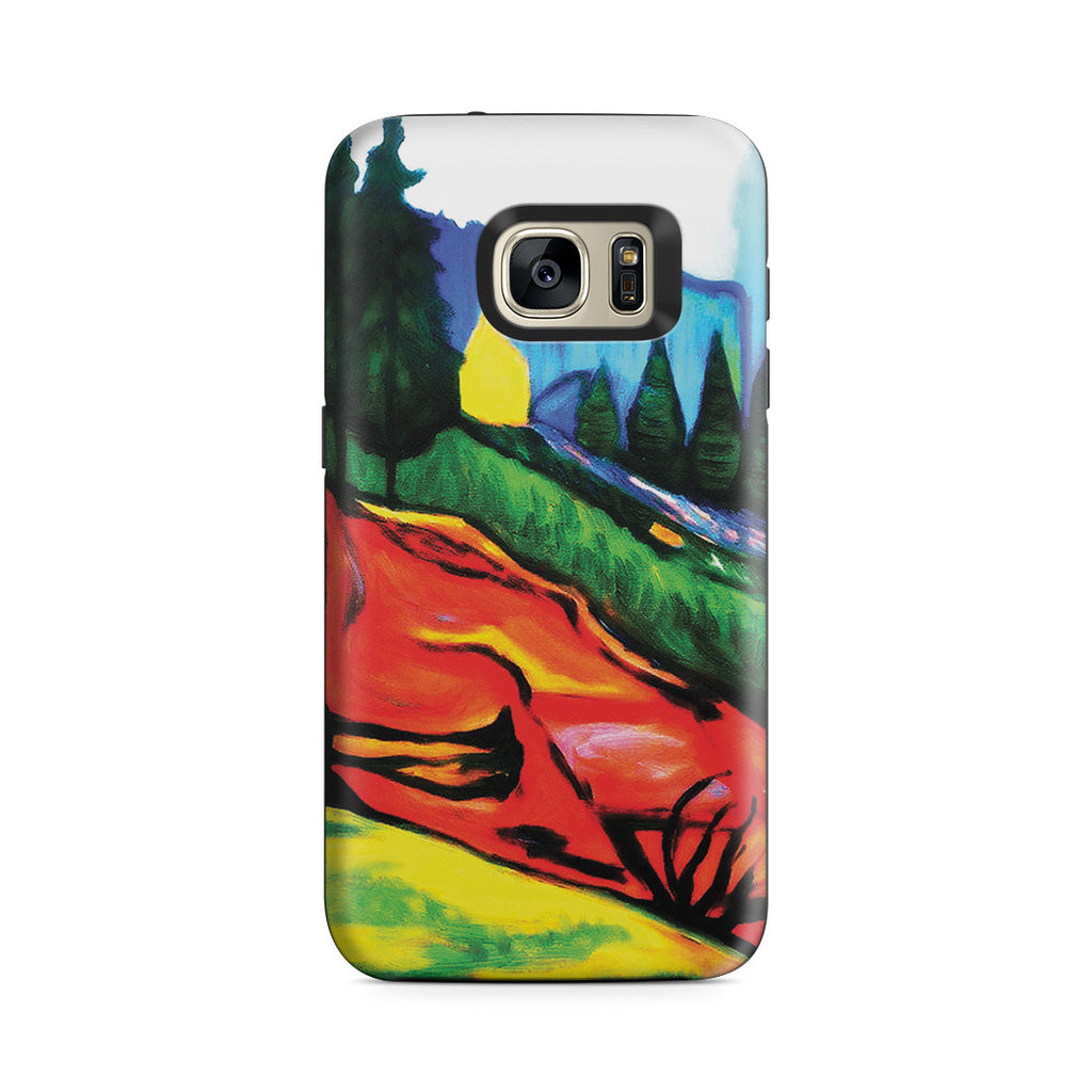 Galaxy S7 Adventure Case - From Thuringewald, 1905 by Edvard Munch