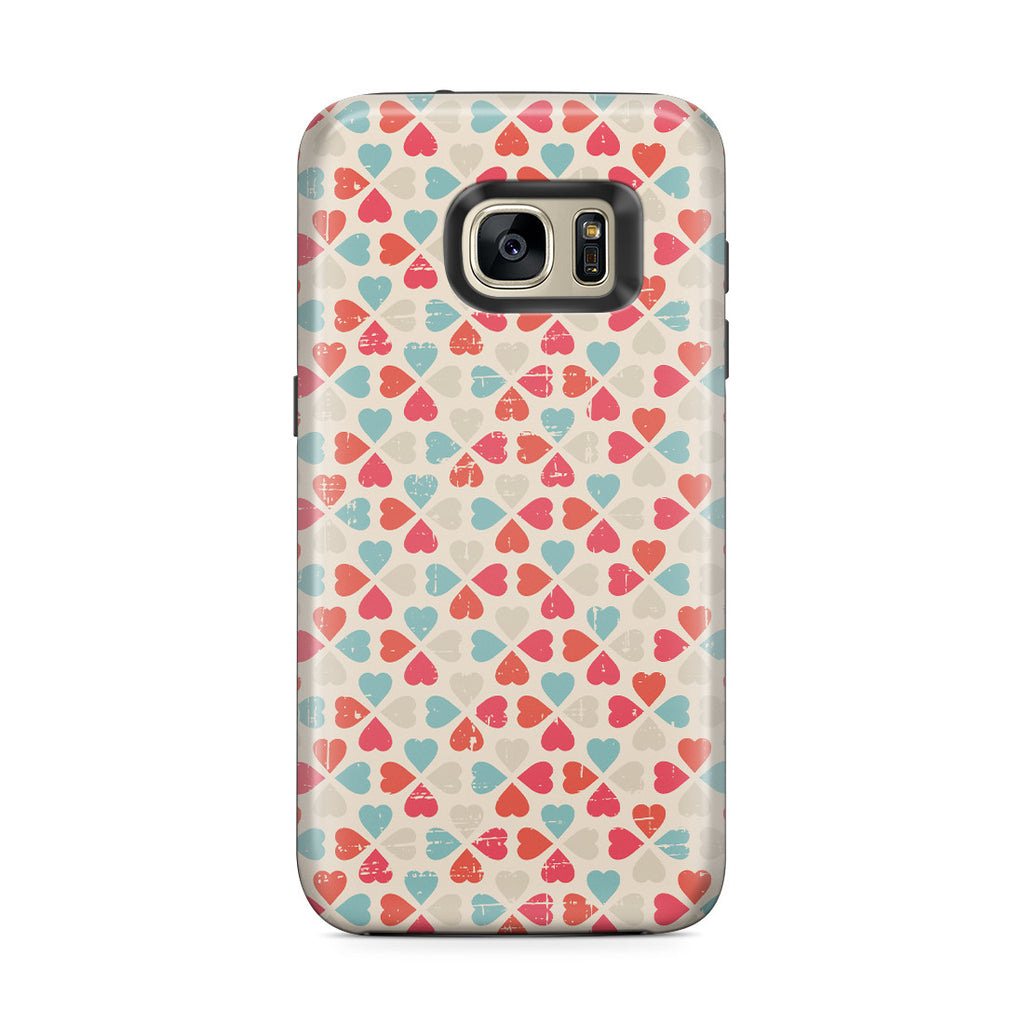 Galaxy S7 Edge Adventure Case - Bed of Clovers