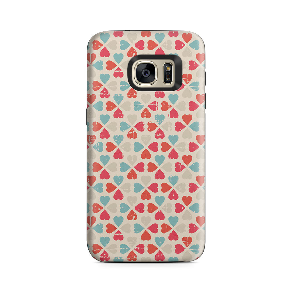 Galaxy S7 Adventure Case - Bed of Clovers