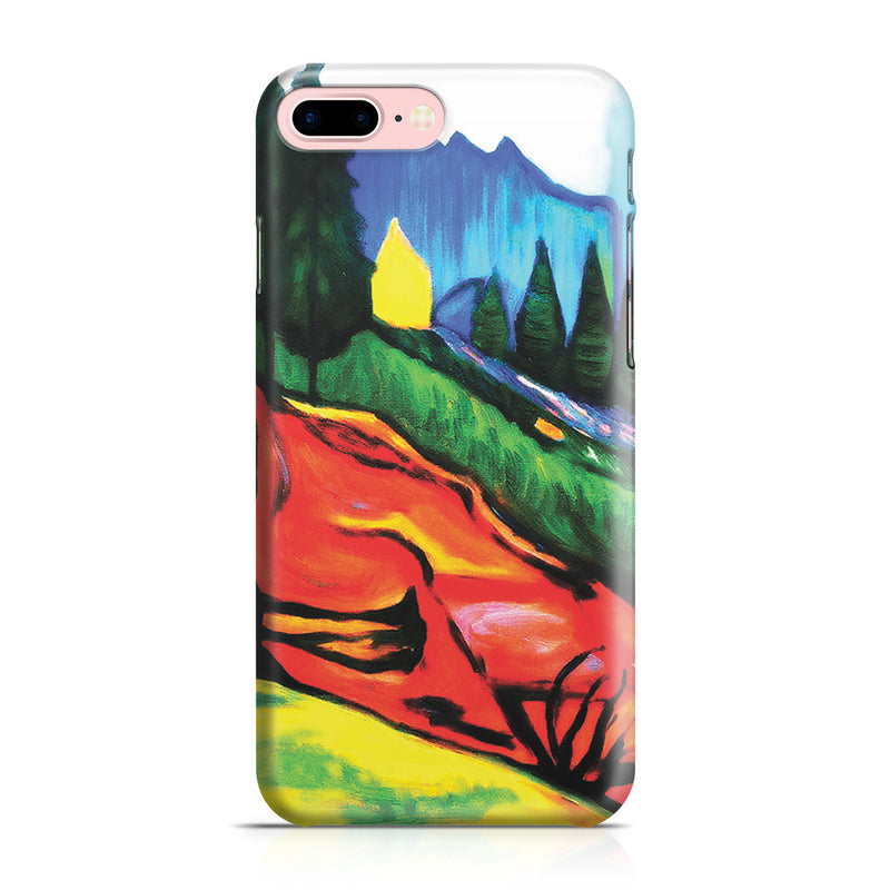 iPhone 7 Plus Case - From Thuringewald, 1905 by Edvard Munch