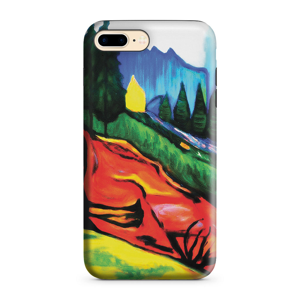 iPhone 7 Plus Adventure Case - From Thuringewald, 1905 by Edvard Munch