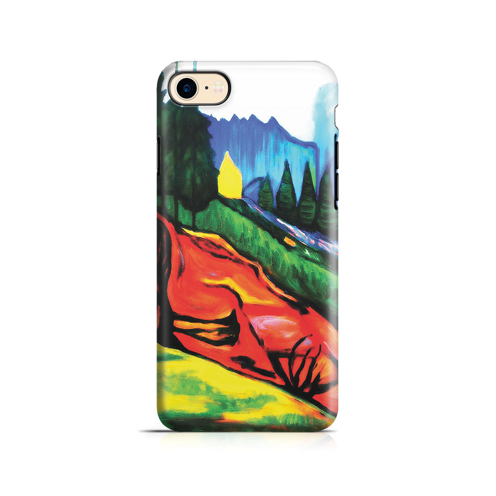 iPhone 6 | 6s Adventure Case - From Thuringewald, 1905 by Edvard Munch