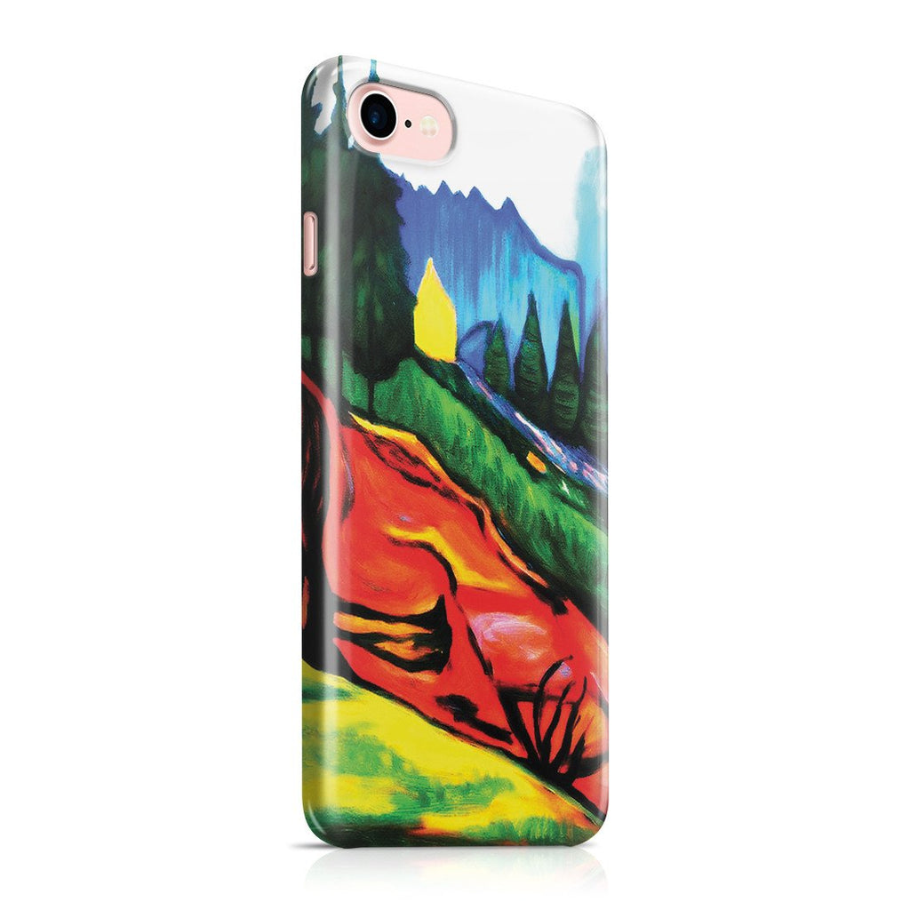 iPhone 8 Case - From Thuringewald, 1905 by Edvard Munch