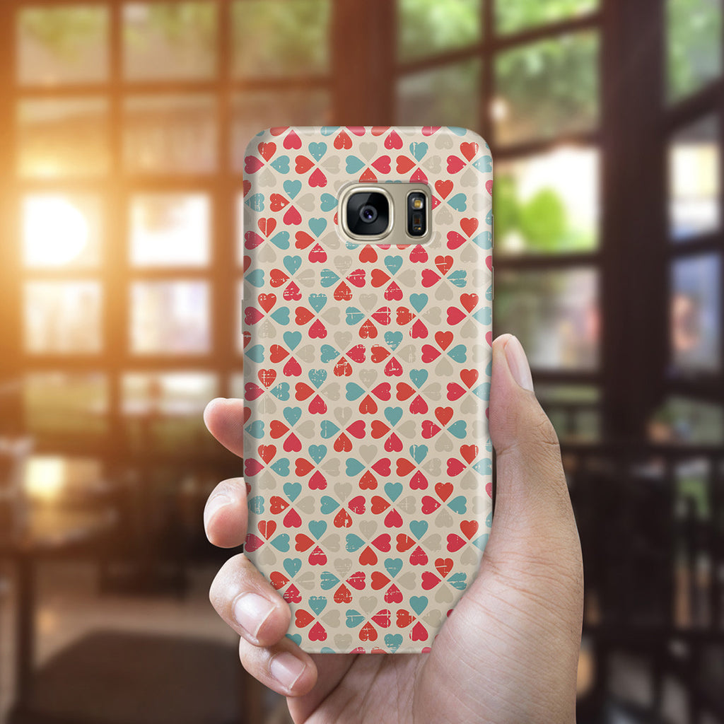 Galaxy S7 Edge Case - Bed of Clovers