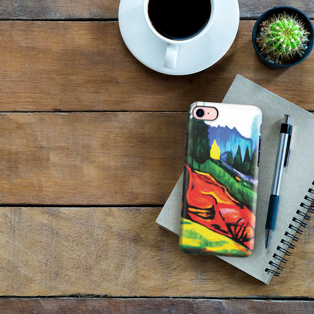 iPhone 6 | 6s Plus Adventure Case - From Thuringewald, 1905 by Edvard Munch