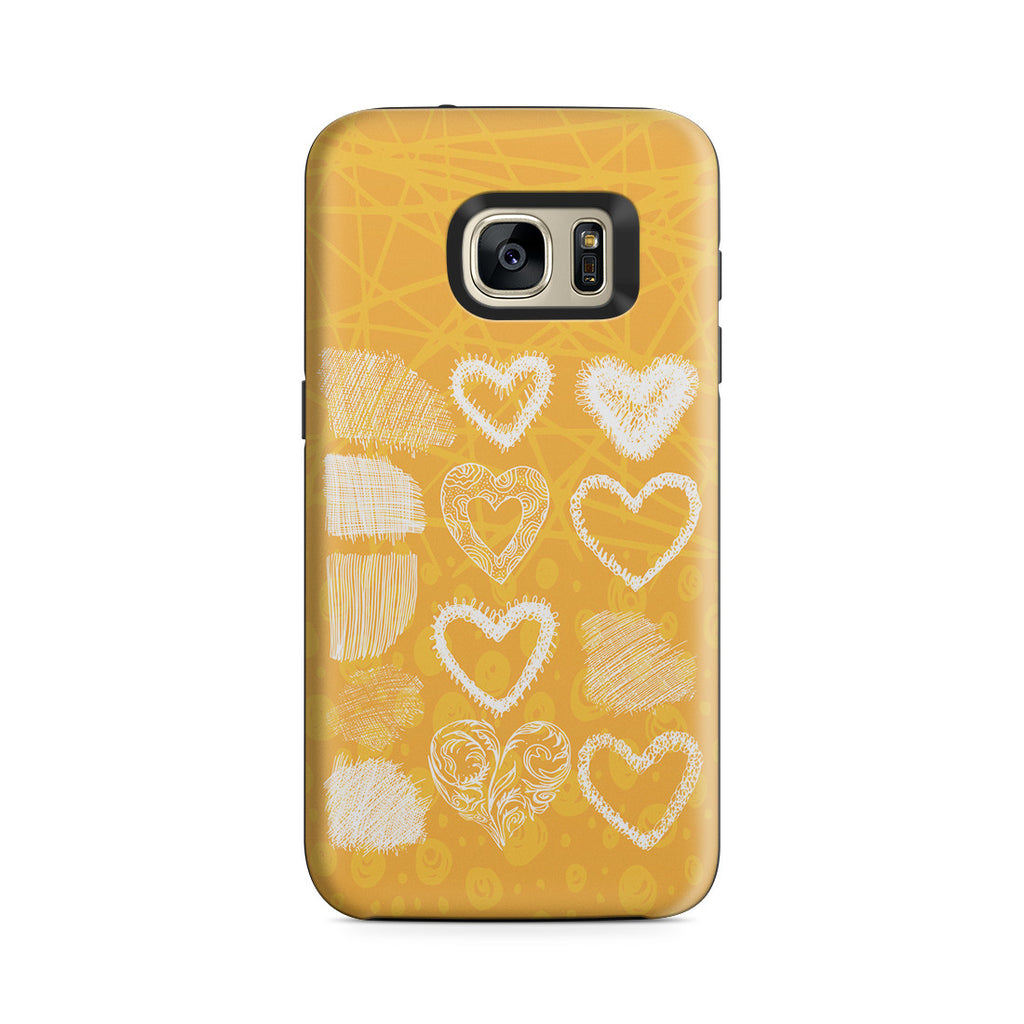 Galaxy S7 Adventure Case - Keep Love in Your Heart