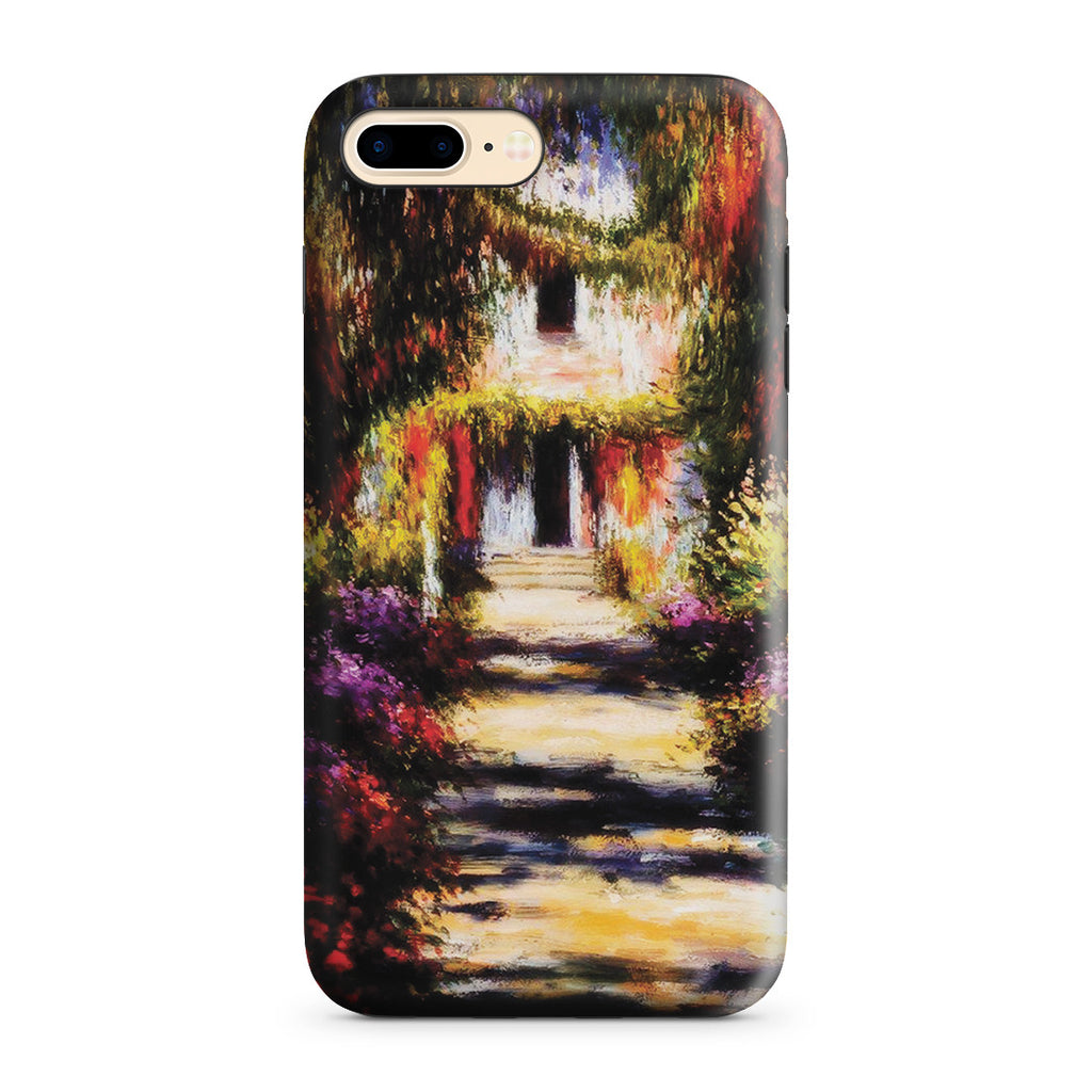 iPhone 7 Plus Adventure Case - Garden Path at Giverny by Claude Monet