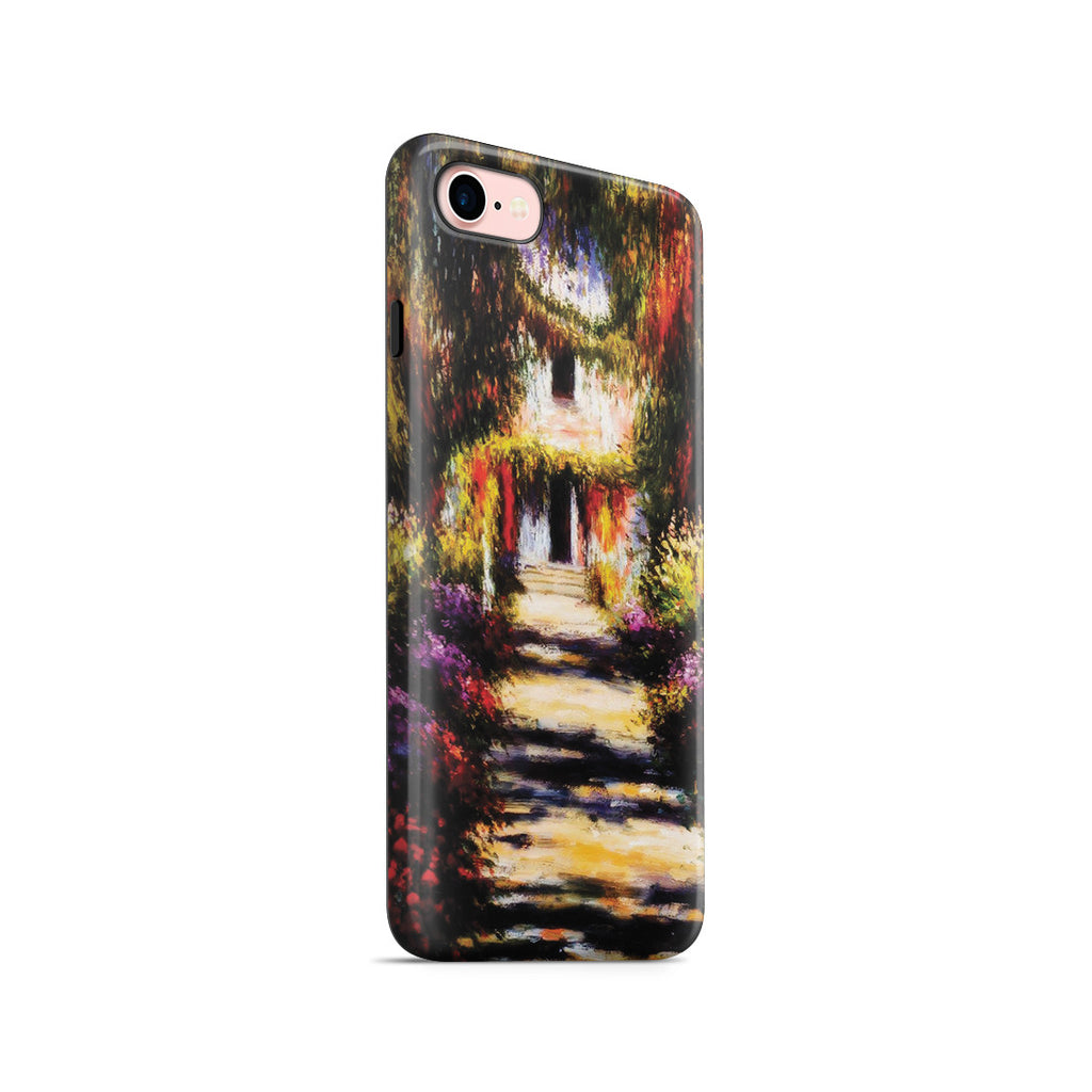 iPhone 7 Adventure Case - Garden Path at Giverny by Claude Monet