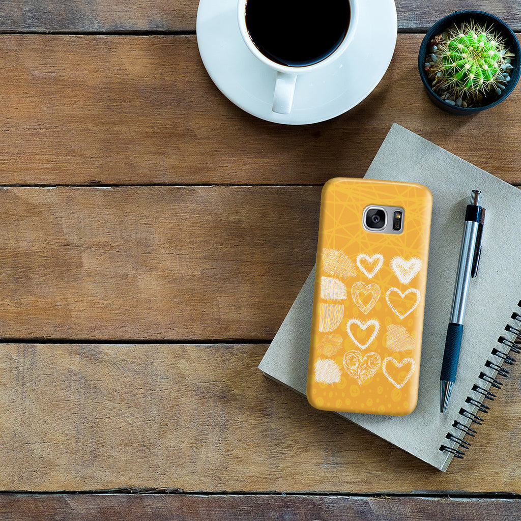 Galaxy S7 Edge Case - Keep Love in Your Heart