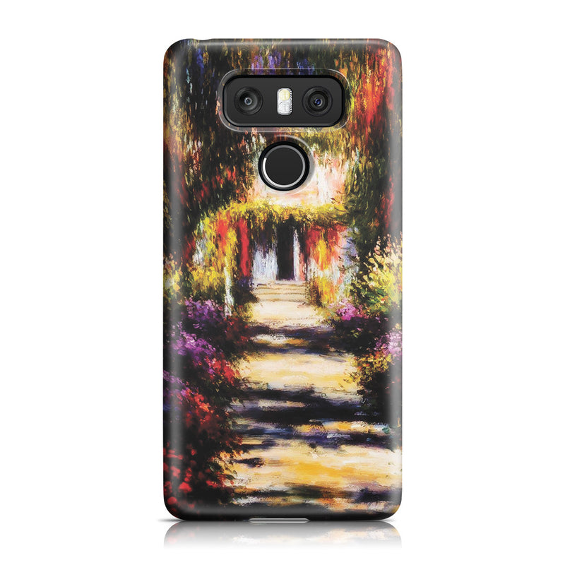 LG G6 Case - Garden Path at Giverny by Claude Monet