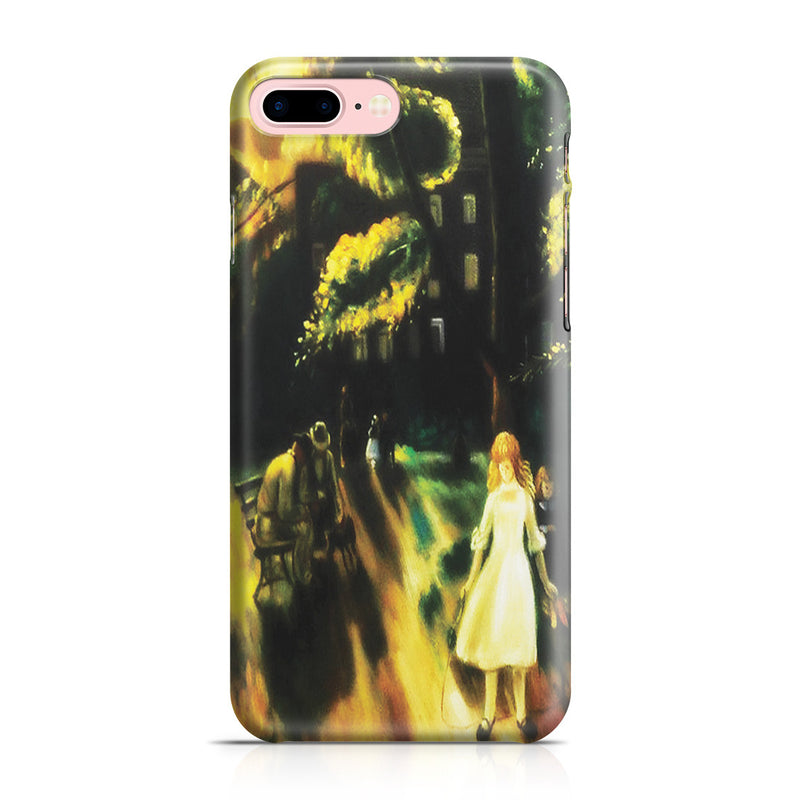 iPhone 7 Plus Case - Gramercy Park, 1920 by George Wesley Bellows