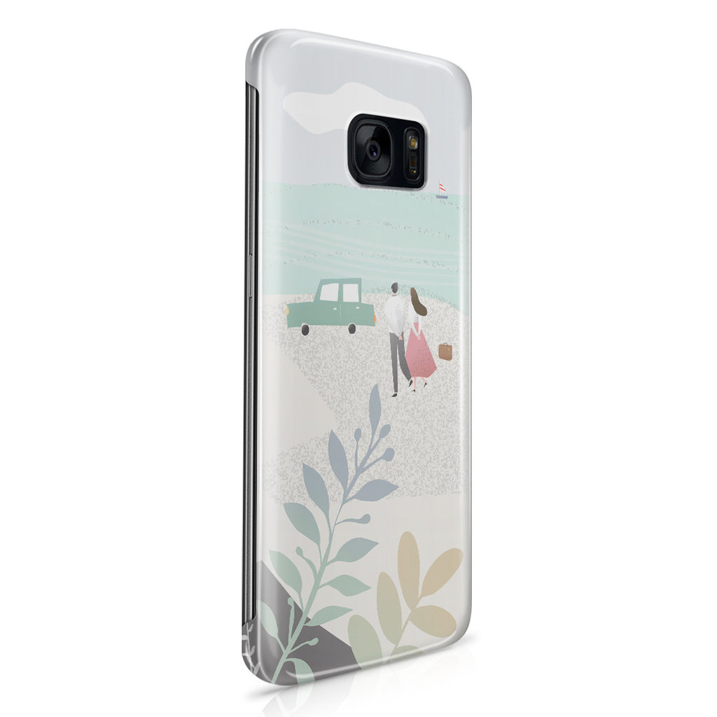 Galaxy S7 Edge Case - Long Walks on the Beach