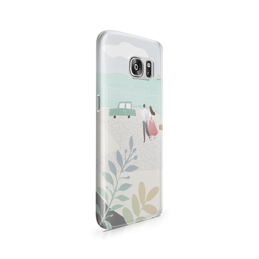 Galaxy S7 Case - Long Walks on the Beach