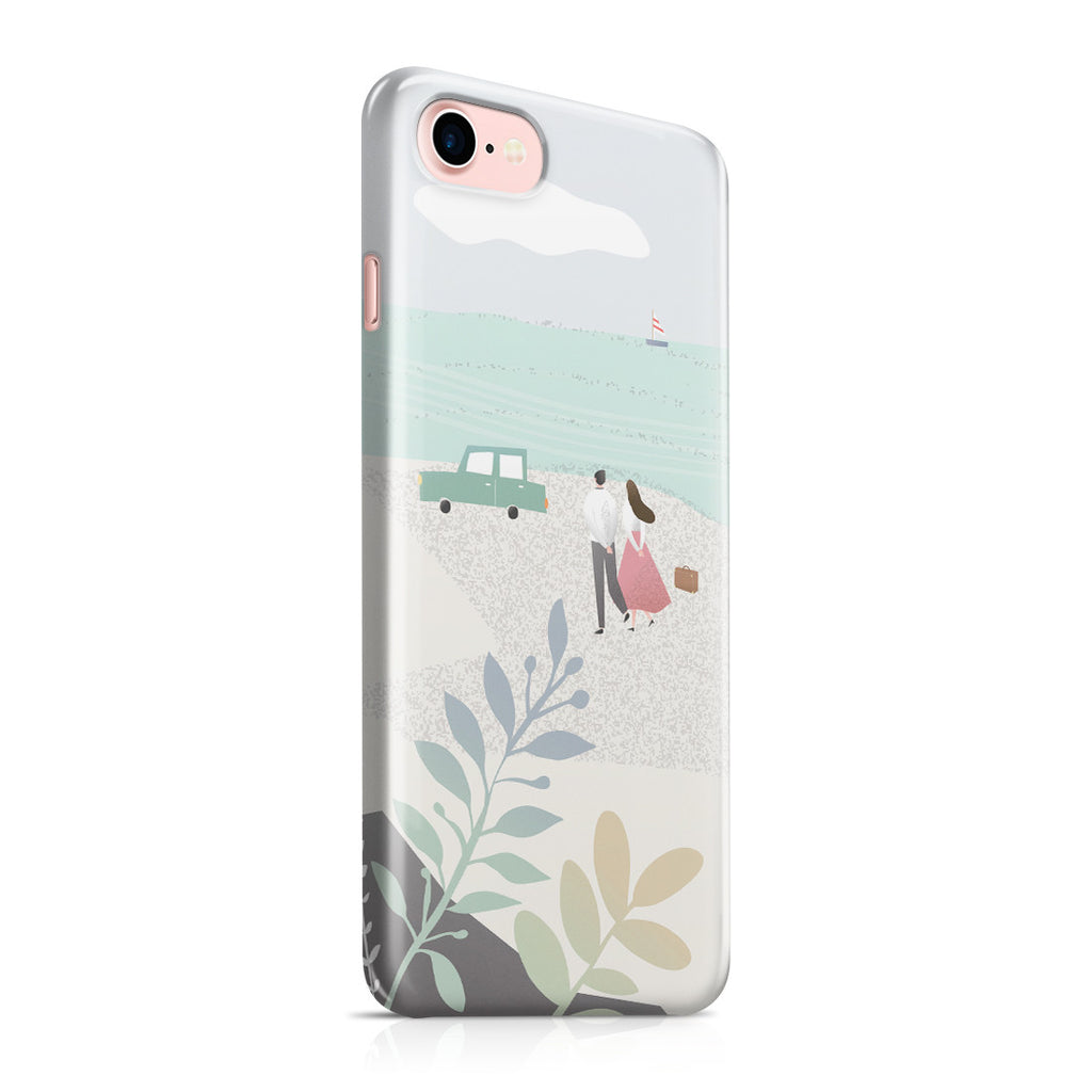 iPhone 7 Case - Long Walks on the Beach