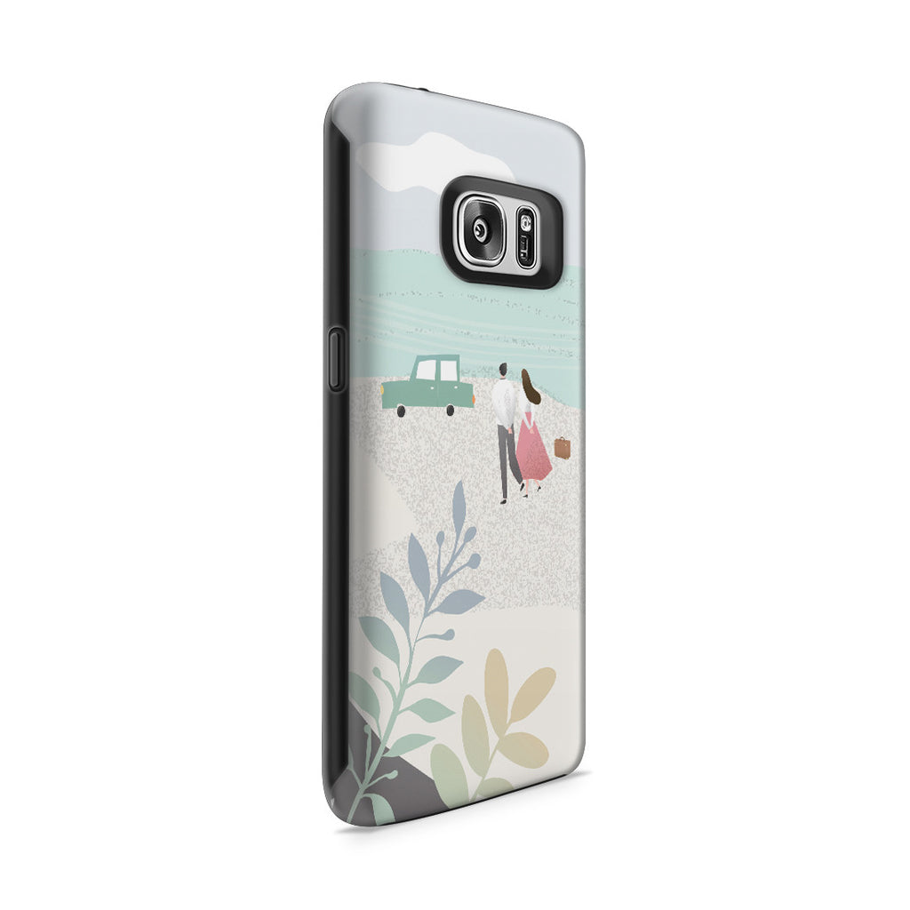 Galaxy S7 Adventure Case - Long Walks on the Beach