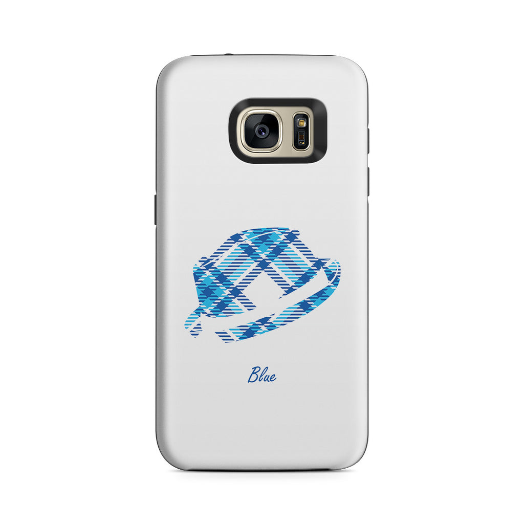 Galaxy S7 Adventure Case - Blue Bro's Fedora