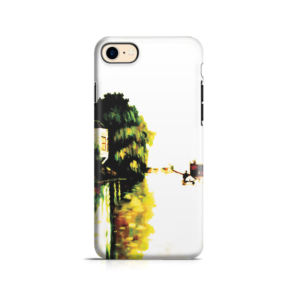 iPhone 7 Adventure Case - Houses on the Achterzaan by Claude Monet