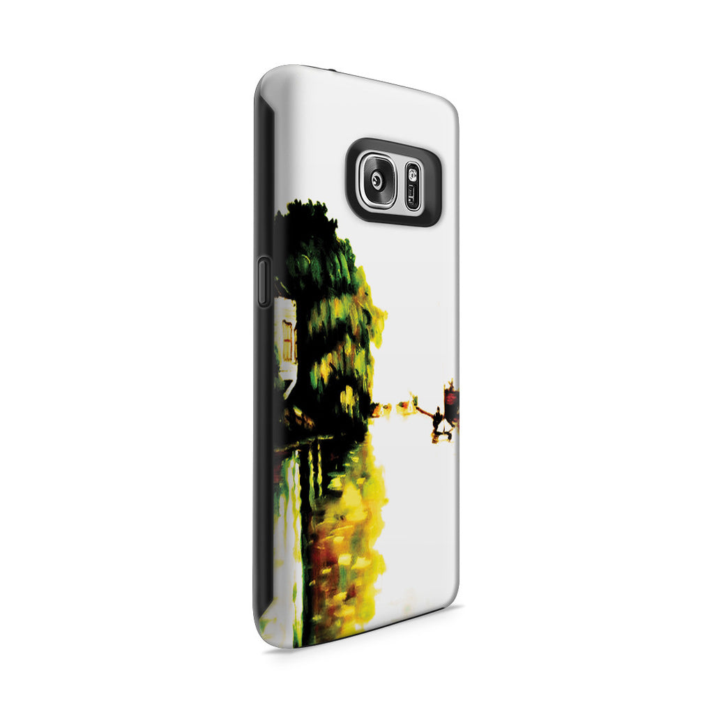 Galaxy S7 Adventure Case - Houses on the Achterzaan by Claude Monet