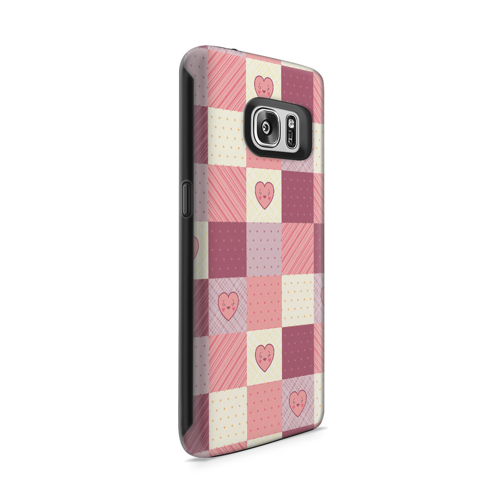 Galaxy S7 Adventure Case - Comforted by a Quilt of Love