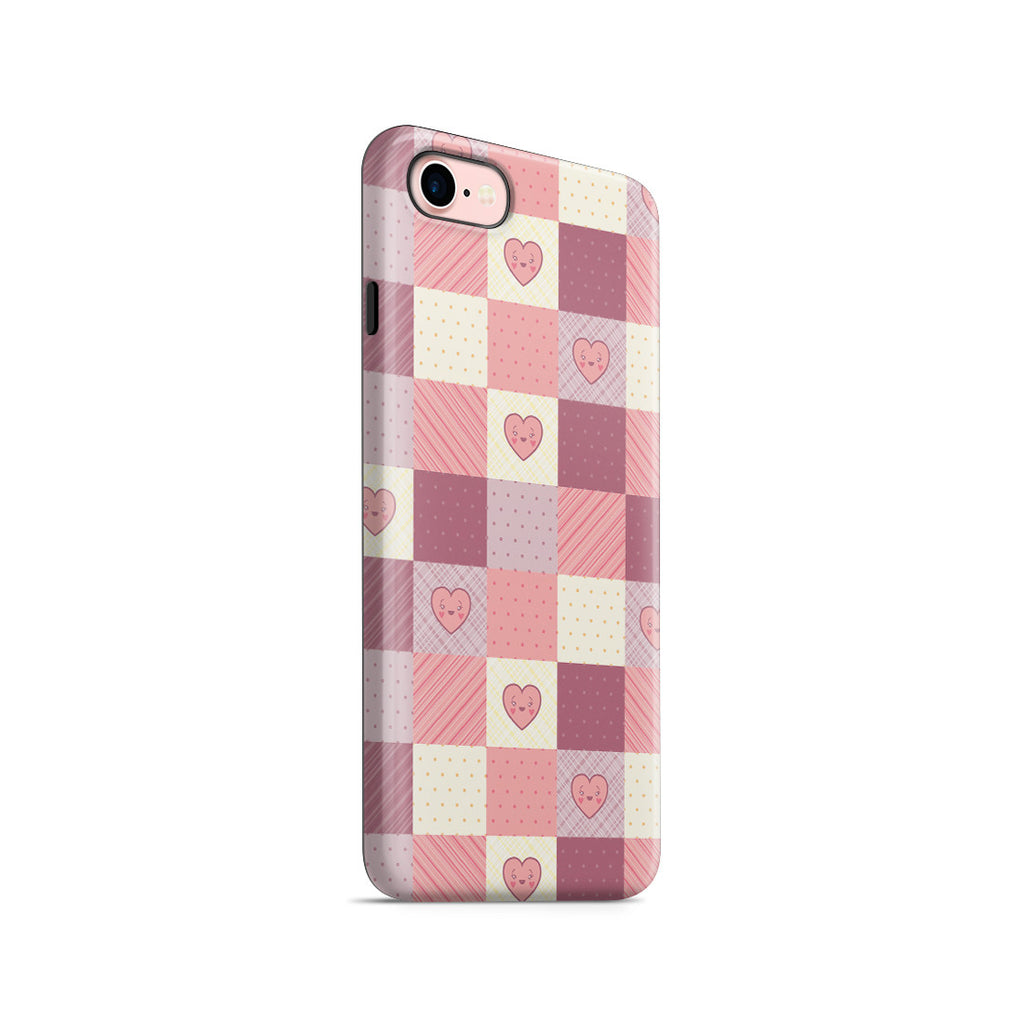iPhone 7 Adventure Case - Comforted by a Quilt of Love