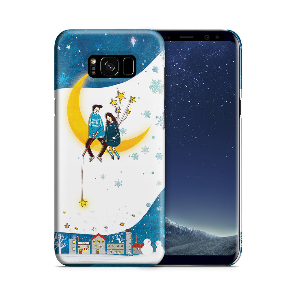 Galaxy S8 Plus Case - You Are My Moon and All My Stars