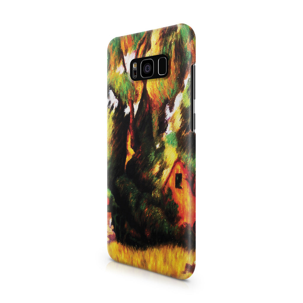 Galaxy S8 Case - Huttes Sous Les Arbres, 1887 by Paul Gauguin