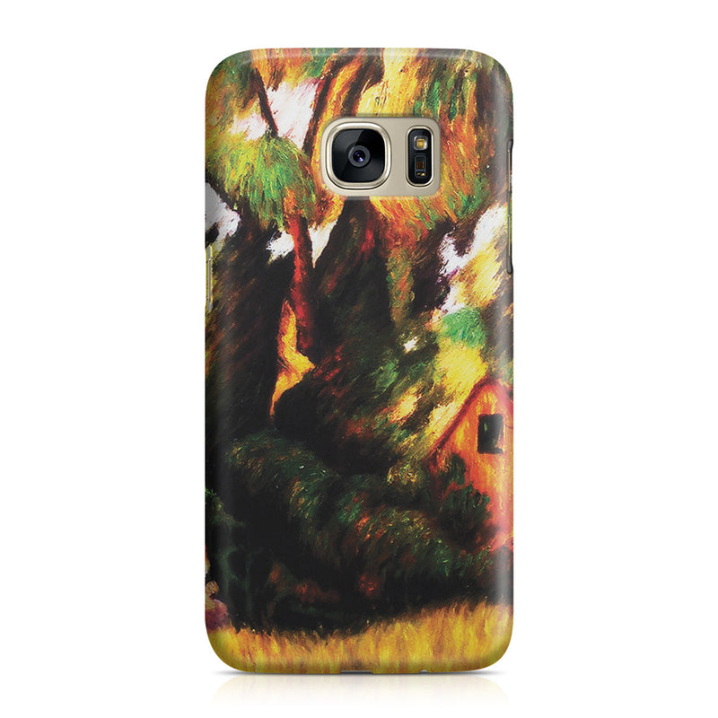 Galaxy S7 Case - Huttes Sous Les Arbres, 1887 by Paul Gauguin
