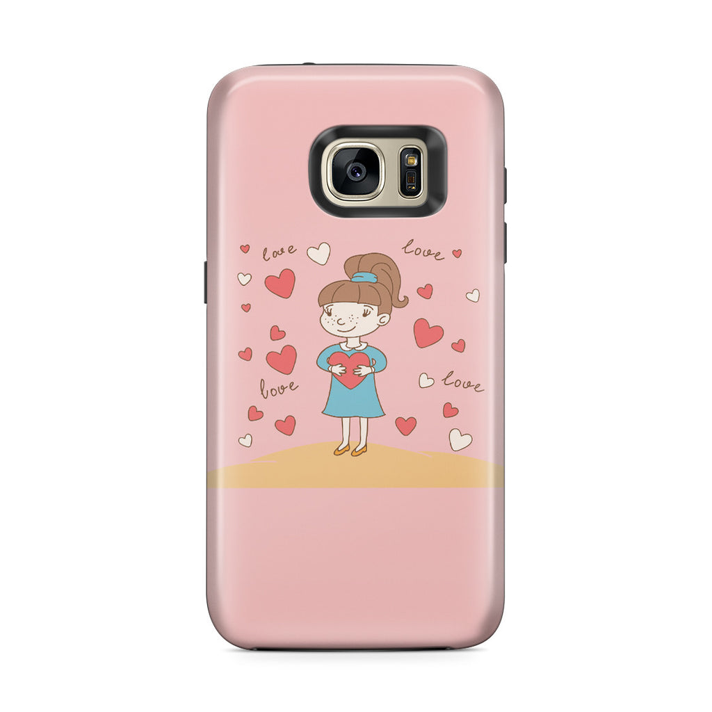 Galaxy S7 Edge Adventure Case - Hold You in My Heart