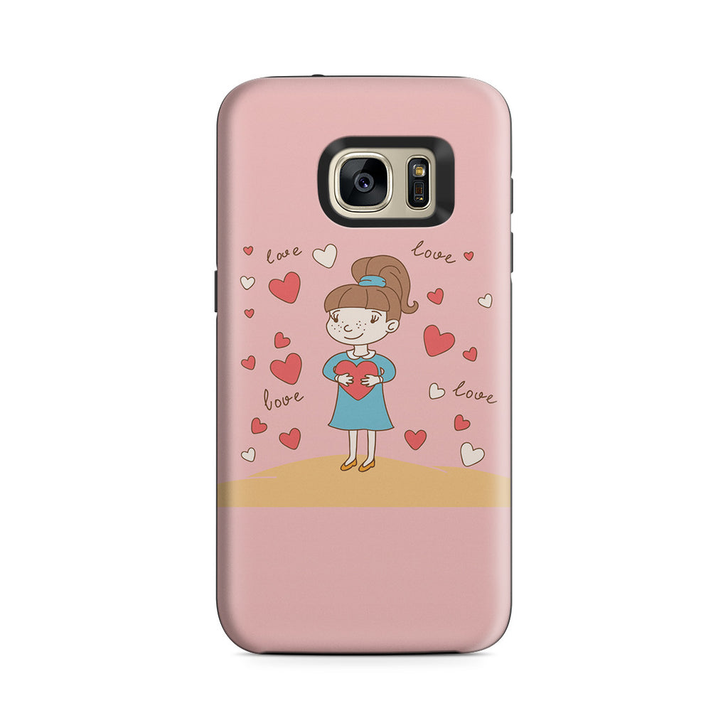 Galaxy S7 Adventure Case - Hold You in My Heart