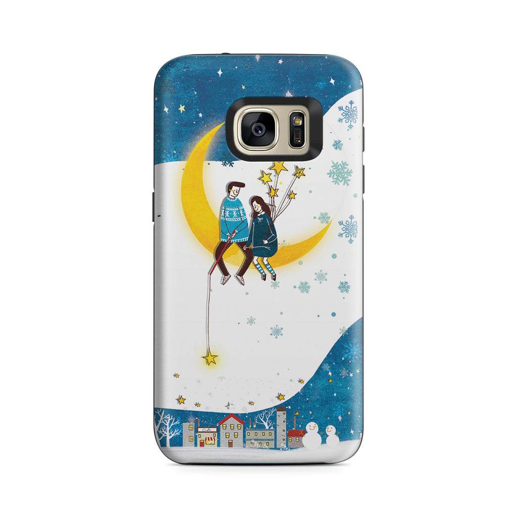 Galaxy S7 Adventure Case - You Are My Moon and All My Stars