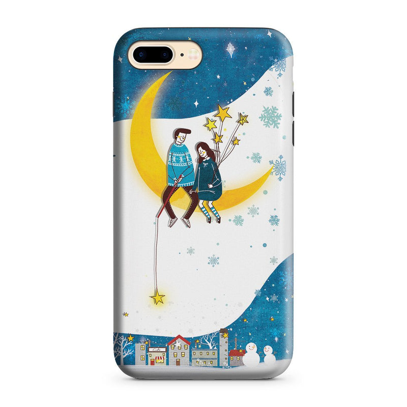 iPhone 8 Plus Adventure Case - You Are My Moon and All My Stars