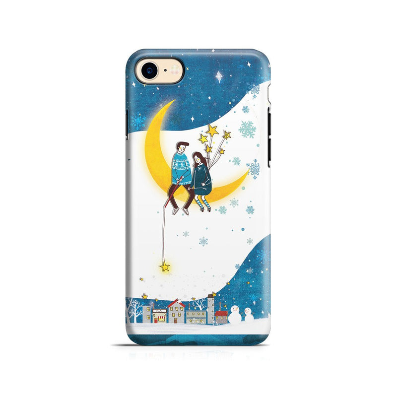 iPhone 8 Adventure Case - You Are My Moon and All My Stars