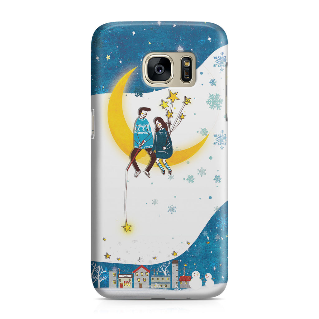 Galaxy S7 Case - You Are My Moon and All My Stars
