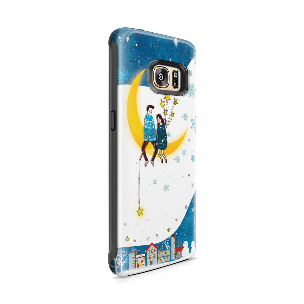 Galaxy S7 Edge Adventure Case - You Are My Moon and All My Stars