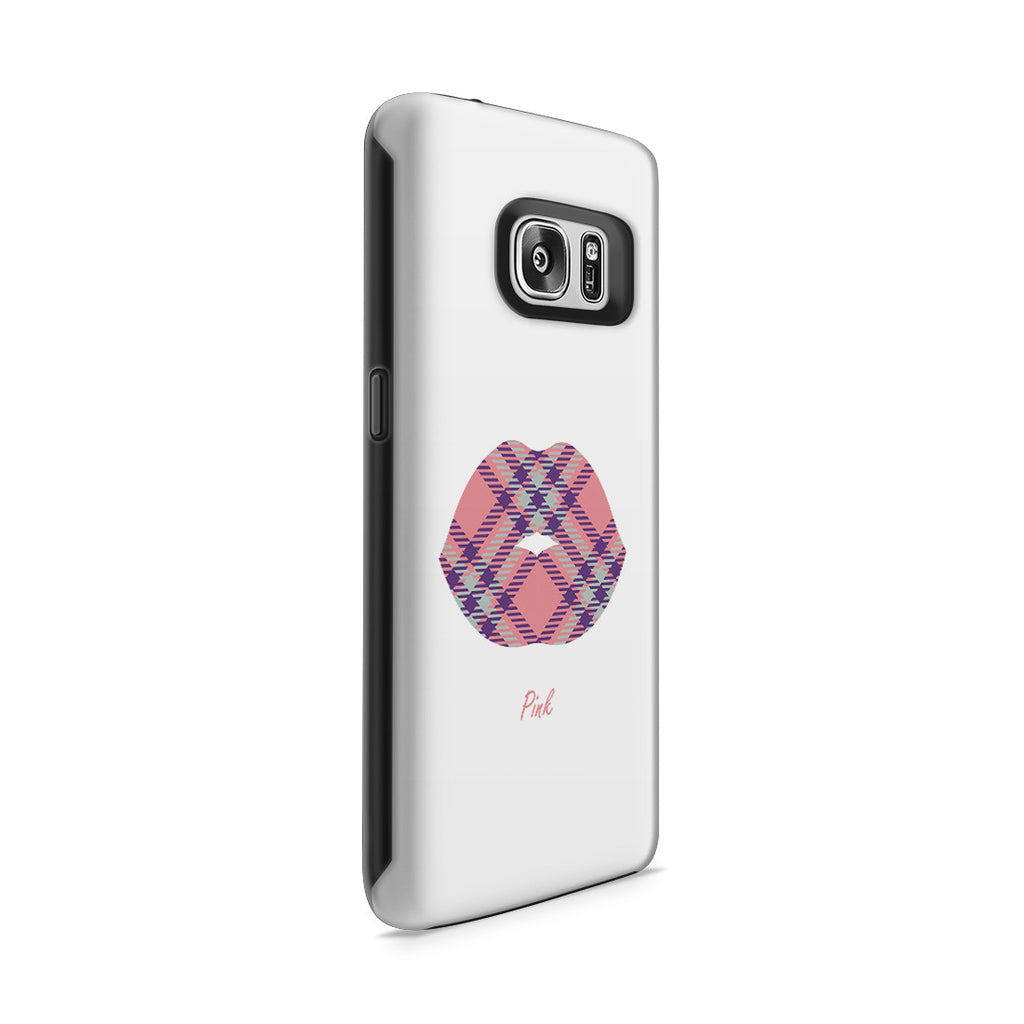 Galaxy S7 Adventure Case - Pink Kisses