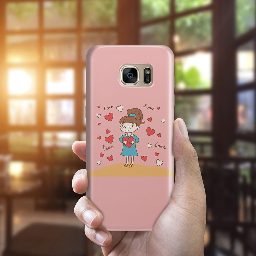 Galaxy S7 Edge Case - Hold You in My Heart
