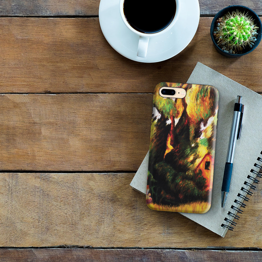 iPhone 7 Plus Adventure Case - Huttes Sous Les Arbres, 1887 by Paul Gauguin