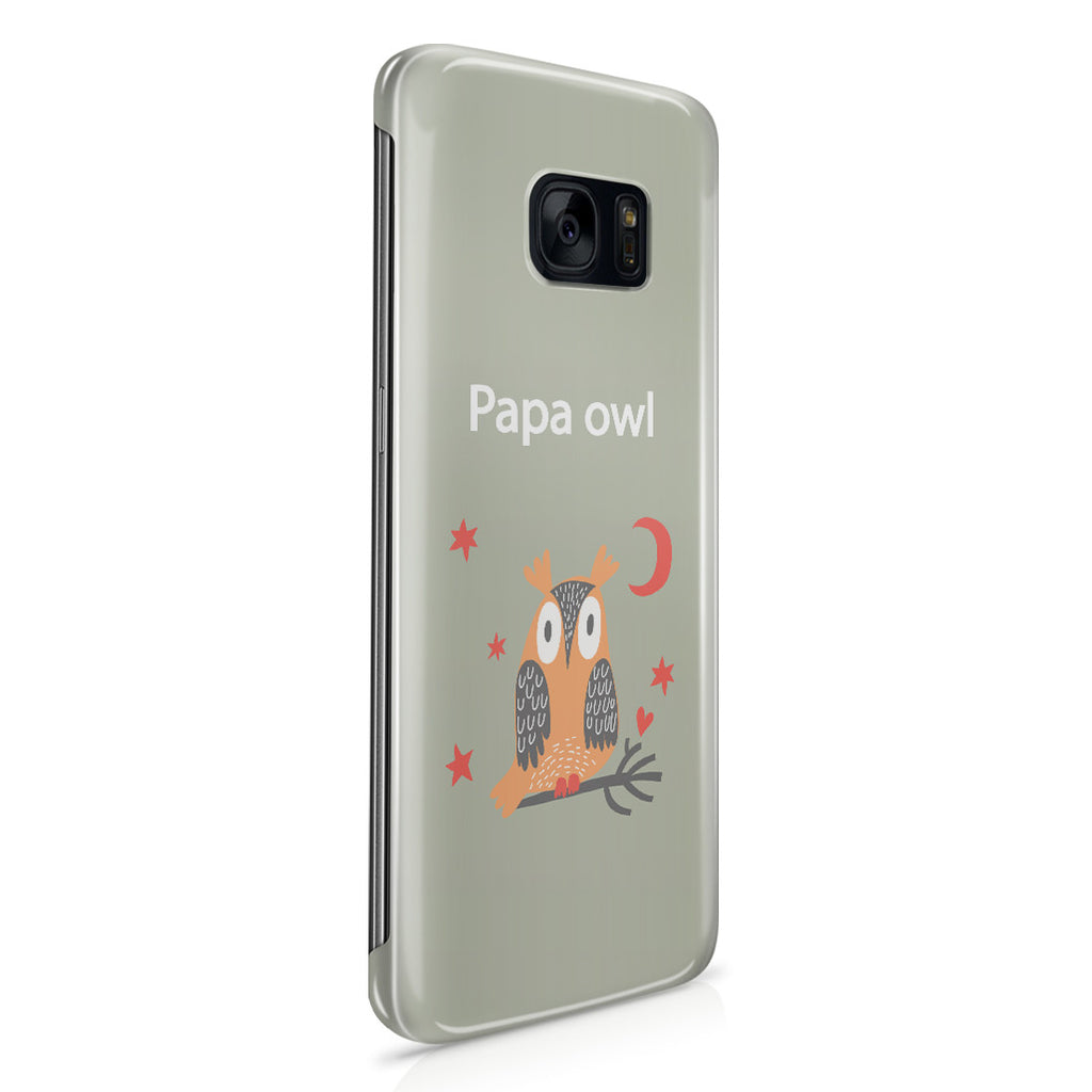 Galaxy S7 Edge Case - Papa Owl