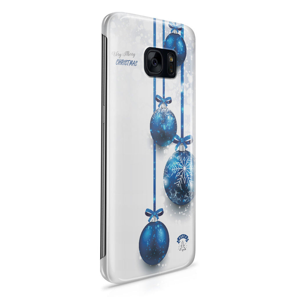 Galaxy S7 Edge Case - Merry Blizzard